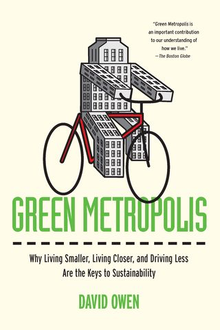 Green metropolis paperback cover